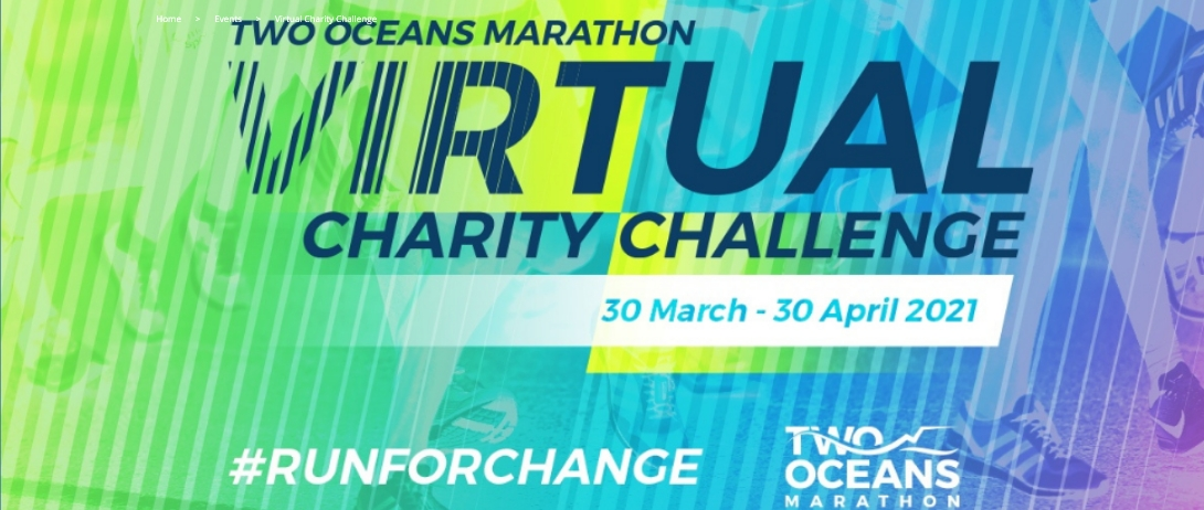 Run For Change – Run For CANSA Active in the Two Oceans Virtual Charity Challenge